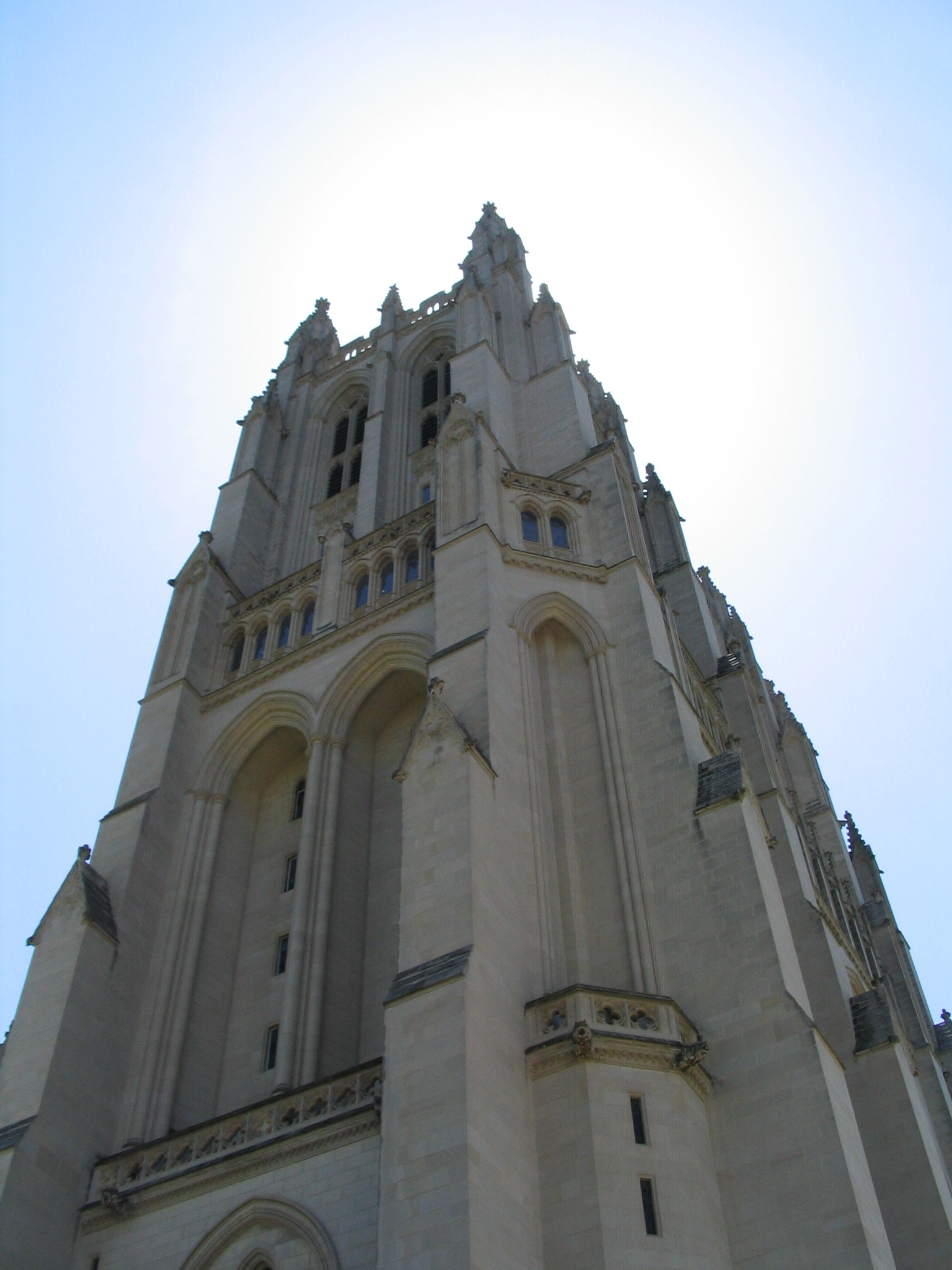National Cathedral view from Northwest